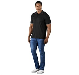 Golfers - Mens Ash Golf Shirt