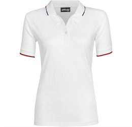 Golfers - Ladies Ash Golf Shirt