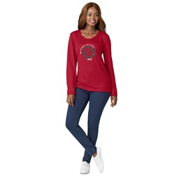 Ladies Long Sleeve All Star TShirt