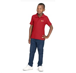 Kids Basic Pique Golf Shirt