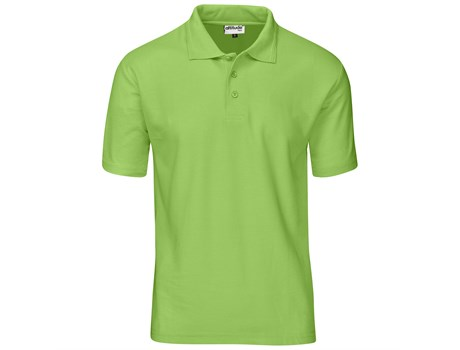 Altitude Clothing Mens Basic Pique Golf Shirt in Charcoal Code ALT-BBM