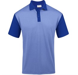 Golfers - Mens Crossfire Melange Golf Shirt