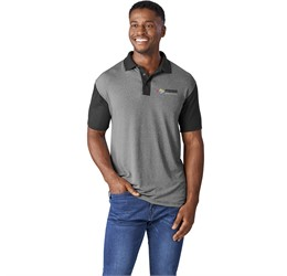 Golfers - Mens Crossfire Melange Golf Shirt