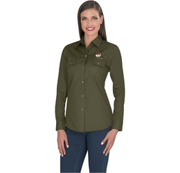 Ladies Long Sleeve Oryx Bush Shirt