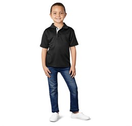 Kids Tournament Golf Shirt