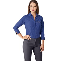 Ladies ¾ Sleeve Viscount Shirt