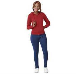 Ladies Bravo Hooded Sweater