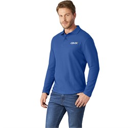 Golfers - Mens Long Sleeve Boston Golf Shirt