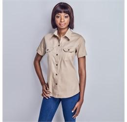 Ladies Short Sleeve Wildstone Shirt