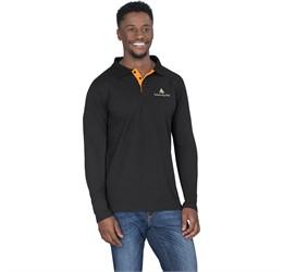 Golfers - Mens Long Sleeve Solo Golf Shirt