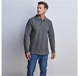 Golfers - Mens Long Sleeve Elemental Golf Shirt