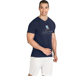 Mens Super Club 165 VNeck TShirt