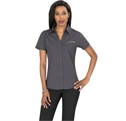 Ladies Short Sleeve Metro Shirt