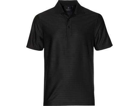 Gary Player Mens Oakland Hills Golf Shirt in Black Code GP-4150