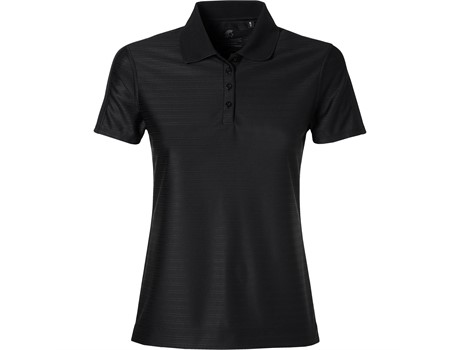 Gary Player Ladies Oakland Hills Golf Shirt in Black Code GP-4151