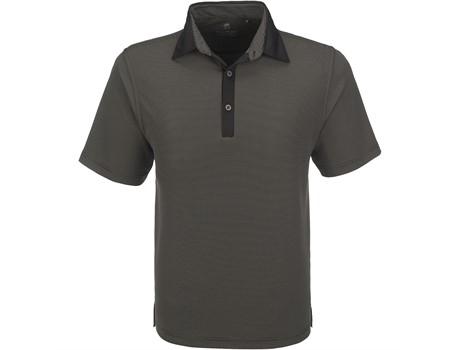 Gary Player Mens Pensacola Golf Shirt in Black Code GP-5250