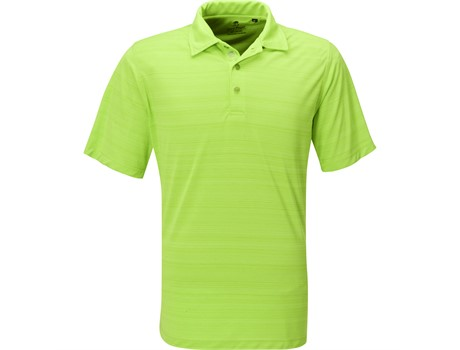 Gary Player Mens Astoria Golf Shirt in Lime Code GP-7454