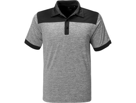 Gary Player Mens Baytree Golf Shirt in Black Code GP-7456