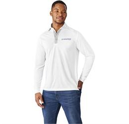 Mens Long Sleeve Pensacola Golf Shirt