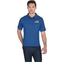 Golfers - Mens Crest Golf Shirt